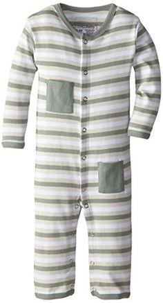 L'ovedbaby Unisex-Baby Newborn Organic Long Sleeve Overal...