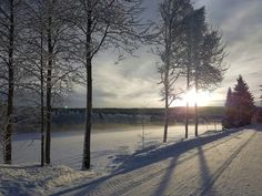 Snow, Celestial, Sunset, Nature, Outdoor, Naturaleza, Outdoors, Outdoor Games, Sunsets