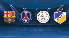 PSG, Ajax y APOEL, rivales del Barcelona en la fase de grupos