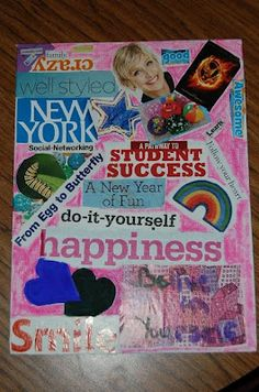 Vision Boards for Goal Setting