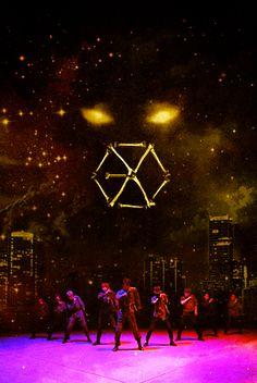 exo monster background