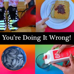 No more struggling with new shoes that rub or aluminum foil that unrolls. These $0 life hacks just changed your daily routine./