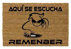 Si en tu casa lo que más se escucha es Remember no te puede faltar éste felpudo en tu puerta. Home, Coir, The Originals