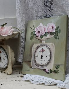 Inspiration from my Vintage Scales ~ www.gailmccormack.com