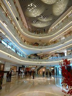 Iapm Mall Shanghai/環貿iapm商場 上海 Mall Design, Lobby Design, Organic Architecture, Space Architecture, Shoping Mall, Shopping Mall Interior, Parametric Design, Shop Interiors, Modern Buildings