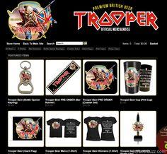 Iron Maiden Launches Website dedicated To Trooper Beer Merchandise