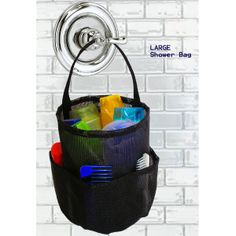 Saltwater Canvas Shower X LARGE Bag Black | FREE SHIPPING