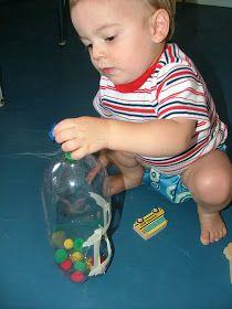 Little Hands, Big Work: Pom Pom Bottle