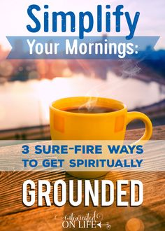 Do you have a morning habit that makes your soul happy in the Lord? Read on to know how to fill the glory tank each morning.