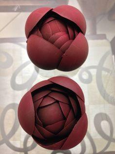 Rosas Vermelhas de Chocolate Finesse Doces Finos