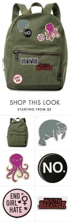 """""""Lilith's Backpack"""" by daddys-little-kittenn ❤ liked on Polyvore featuring Herschel Supply Co. and Witch Worldwide"""