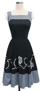 Trashy Diva Picnic Dress picnic1-blackgingham