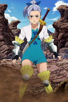 Jericho bae - Nanatsu No Taizai Seven Deadly Sins Anime, Jericho Seven Deadly Sins, 7 Deadly Sins, M Anime, Otaku Anime, Kawaii Anime, Vampire Knight, 7 Sins, Seven Deady Sins