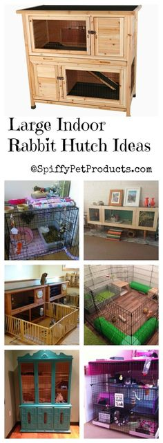 Spiffy Large Indoor Rabbit Hutch Ideas For Keeping Your Pet Rabbit Happy & Healt. - Spiffy Large Indoor Rabbit Hutch Ideas For Keeping Your Pet Rabbit Happy & Healthy! Indoor Rabbit House, Rabbit Hutch Indoor, House Rabbit, Pet Rabbit, Indoor Rabbit Cages, Rabbit Cage Diy, Diy Bunny Cage, Hamsters, Flemish Giant Rabbit
