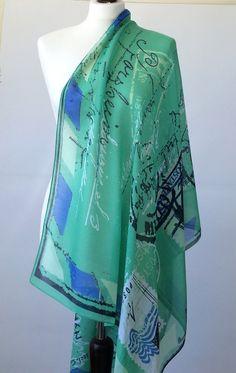 Green Beach Sarong Swimsuit Coverup Swimwear Beachwear