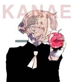 Kanae It wants me to spell Kanye, wtf auto correct. I'm not a Kardashian (also made me capitalize the name) I was going to complement how pretty this art was but this happen and nope, I'm going to sleep. Tsukiyama, Ayato, Kaneki, Sad Anime, Manga Anime, Tokyo Ghoul Tumblr, Kanae Von Rosewald, Itori Tokyo Ghoul, Deadman Wonderland