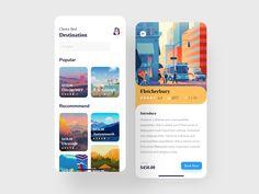 Event App UI App by Jawadur Rahman for on Dribbble Flat Web Design, App Ui Design, Interface Design, User Interface, Web Mobile, Mobile App Ui, Apps, Ui Design Principles, Design Responsive
