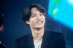 You so fuckin precious when you smiLe Chanyeol, Kyungsoo, Kris Wu, Ko Ko Bop, Exo Fan, Exo Korean, Kim Jongin, When You Smile, Kim Junmyeon