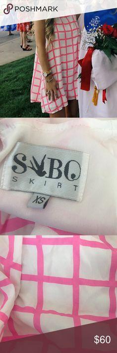 Selling this Grid Shift Dress on Poshmark! My username is: katjones__. #shopmycloset #poshmark #fashion #shopping #style #forsale #Sabo Skirt #Dresses & Skirts
