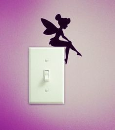 tinkerbell wall decal - Google Search
