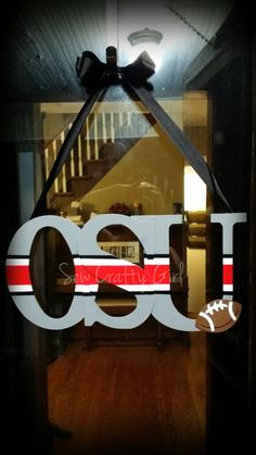 Ohio State Buckeyes Door Decor