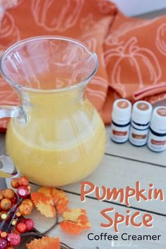 Make a Pumpkin Spice Coffee Creamer this fall with all-natural ingredients! Enjoy the rich flavors of pumpkin, coconut, vanilla, and the spice of Vitality essential oils.