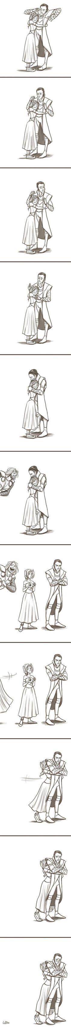 Loki in love…