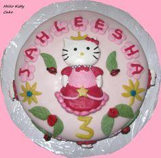 Hello Kitty verjaardagstaart