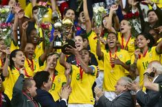 Blog Esportivo do Suíço: Seleção feminina empata com Colômbia e conquista o hexa da Copa América