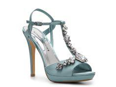 Audrey Brooke Crystal Platform Sandal #DSW
