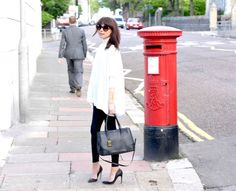 Lorna Luxe in London and the Radial statement gold cuff