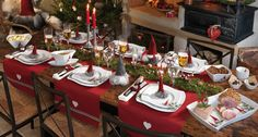 Otrzymaj swój wymarzony serwis obiadowy! - Fyrklövern Swedish Christmas Food, White Christmas, Christmas Ideas, Red And White, Table Settings, Seasons, Inspiration, Dining Rooms, Google Search
