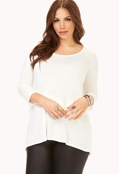 Easy Knit Top   FOREVER21 PLUS - 2000129454