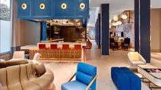 PORCELANOSA Grupo #Projects: elegancia contemporánea en #LeMeridien #NewOrleans #EEUU #interiorismo #hoteles #diseño #decoración