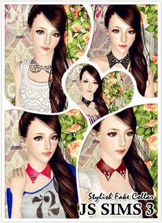 Collar >> JS Sims 3