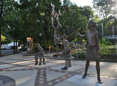 'Four Spirits' sculpture unveiled to the public