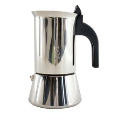 Bialetti Elegance Venus Induction 4 Cup Stainless Steel Espresso Maker amazon - this one is full stainless steel. $56.76