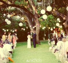 vows under a tree wedding-ideas