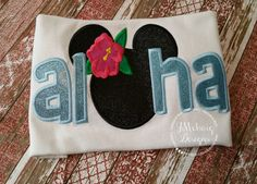 Hey, I found this really awesome Etsy listing at https://www.etsy.com/listing/266669355/aloha-custom-embroidered-disney-inspired