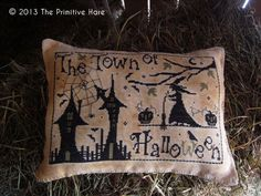 The Town of Halloween by ThePrimitiveHare on Etsy, $12.00