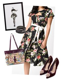 """dress"" by masayuki4499 ❤ liked on Polyvore featuring Ted Baker, Frontgate, Patricia Nash and Chan Luu"