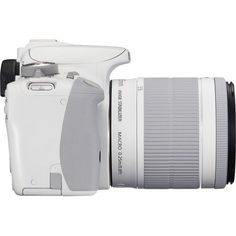 Canon - EOS Rebel SL1 DSLR Camera with EF-S 18-55mm f/3.5-5.6 IS Zoom Lens - White - AlternateView2 Zoom
