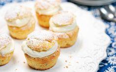 Laskiaispulla-muffinssit