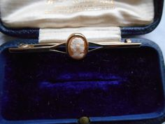 Antique #victorian bar #brooch/pin #cameo set 9ct gold original box mint superb g,  View more on the LINK: http://www.zeppy.io/product/gb/2/361853100191/