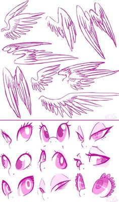 These are sketches meant to be used as a reference or base. Eyeball or trace them, flip them, rotate them, whatever you see fit. Credit not necessary. (My anatomy here is far from perfect, ah...