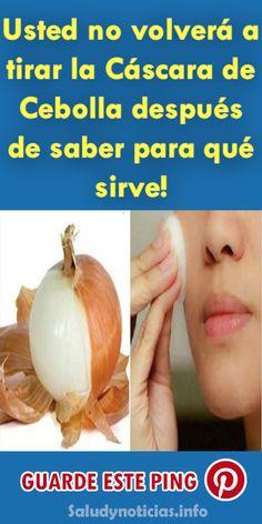 Usted no volverá a tirar la Cáscara de Cebolla después de saber para qué sirve! #Belleza #Remedios #salud #piel #cuidados #cebolla #bellezas #mujeres