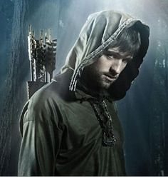 Jonas Armstrong as Robin Hood (BBC).  I loved the first two seasons, but don't bother with the third (I didn't like the ending of the second season).