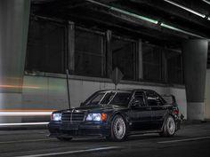1990 Mercedes-Benz 190 E 2.5-16 Evolution II sold at RM Sotheby's Arizona 2017 auction for USD 220k. VIN WDB2010361F734005