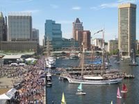 star spangled sailabration in baltimore, maryland