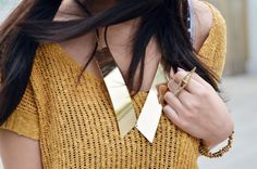 gold accessories= my fave